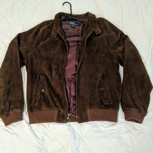 Polo by Ralph Lauren Suede Leather Jacket
